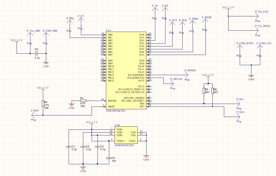 Схема датчика температуры воздуха